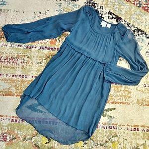 KIMCHI & BLUE Silk Tunic